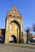 Ruppiner Tor, Gransee, Brandenburg, Deutschland