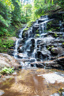 waterfall at the Blue Mountains Australia