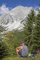 Hochplattig und Hochwand in den Mieminger Bergen
