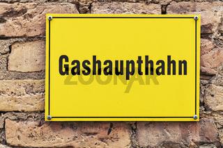 Gashaupthahn   Gas main tap