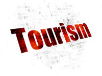 Vacation concept: Tourism on Digital background