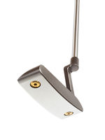 Bottom of Golf Club Putter Isolated on a White Background