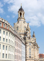 City of Dresden with Frauenkirche