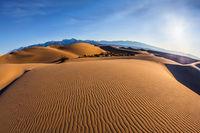 Bizarre twists of  sand dunes