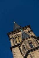 Saint Sylvestri church in the city Wernigerode