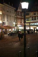 Nachts in der Altstadt von Limburg