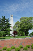 NC State University bell tower in Raleigh