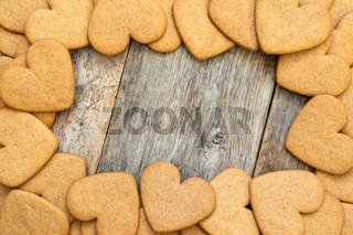 Gingerbread cookies frame