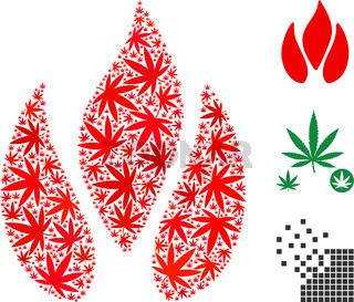 Fire Composition of Cannabis