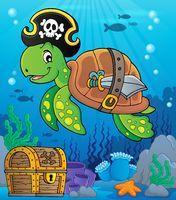 Pirate turtle theme image 2