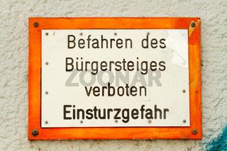 Schilder in Berlin. 003