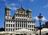 Rathaus Augsburg, Bayern, Deutschland