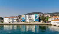 Naval High School at Heybeliada Island in the Sea of Marmara, to the southeast of Istanbul, Turkey