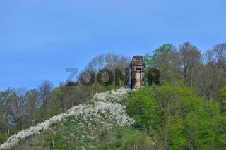 Blick zur Landeskrone bei Goerlitz