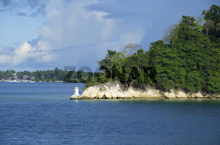 The light house of Havelock Island, Port Blair, Andaman and Nicobar Islands