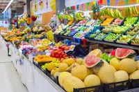 fruits Bolhao market  Porto, Portugal
