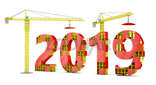 tower cranes building 2019
