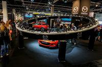 Mazda stand in the Photokina Exhibition