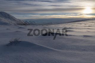 Abendstimmung, Soeroeya, Finnmark