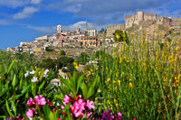 The town of Santa Severina in the Province of Croton