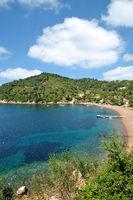 Urlaubsort Bagnaia auf der Insel Elba,Toskana,Mittelmeer,Italien