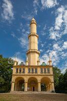 Minaret in Lednice, UNESCO World Heritage