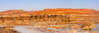 Dead Sea Panorama Israel sunrise morning landscape nature