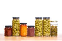 Olives , pesto, dried tomatoes
