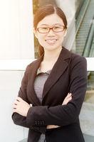 Asian executive portrait