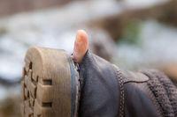 durchgewetzte Schuhe
