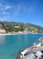 Monterosso al Mare in den Cinque Terre,italienische Riviera,Ligurien,Italien