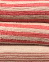 Weiche Stoffe Baumwolle, Alpaca und Mohairwolle als Textur fotografiert