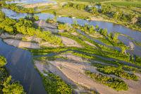 South Platte River aerial view