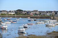 Boote bei Roscoff, Bretagne