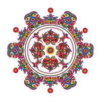 Hungarian folk motif 6