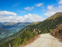 Wanderweg in den Sarntaler Alpen, Südtirol