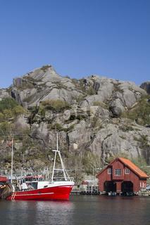 Rekefjord - Fischerdorf in Südnorwegen