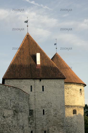 Old Tallinn, fortress walls
