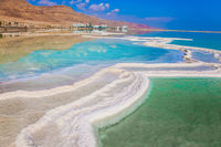 Reduced water in Dead Sea