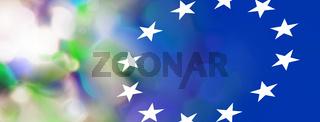 europa bunt vielfalt abstrakt lichter