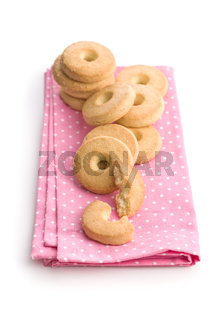 Sweet buttery biscuits.