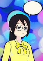 Digital Illustration of a Manga Girl
