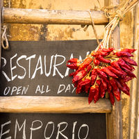Italian Restaurant Blackboard