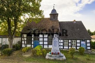 Dorfkirche Marienthal, Zehdenick, Brandenburg, Deutschland