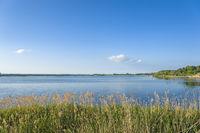 Landschaft am Neustädter Binnenwasser in Neustadt in Holstein