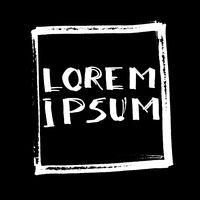 Lorem Ipsum - Lettering
