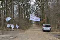 Protestaktion... Hambacher Forst *Nordrhein-Westfalen*