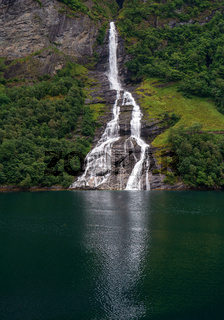 Small waterfall in Norway