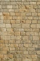 Alte Steinmauer einer Burg als Hintergrund Textur