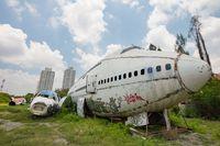 Airplane Graveyard Bangkok